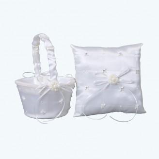 Wedding Pillow & Basket