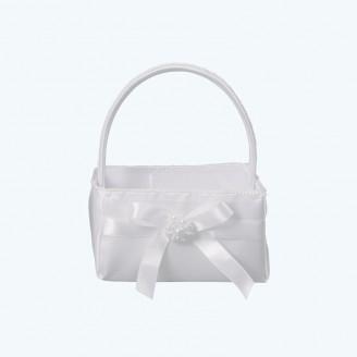 Wedding Basket Ivory-Pack of 1