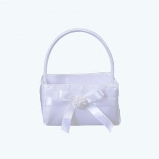 Wedding Basket White-Pack of 1