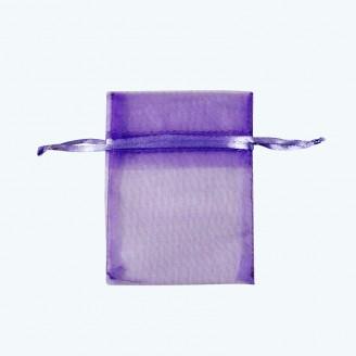 "Organza Pouch Lavender-Pack of 12 | 3""x4"", 4""x5"", 5""x7"", 6""x9"", 6""x14"""