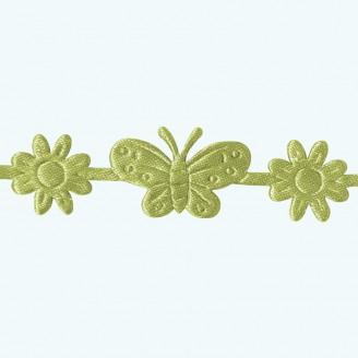 Butterfly & Flower Ribbon | Apple