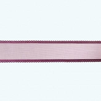 "Organza Ribbon 7/8"", 5/8"", 3/8"" | Purple"