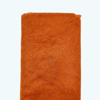 "Glitter Tulle Bolt | 54"" x 10y | Orange"
