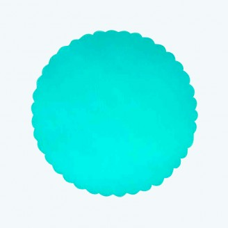 Tulle Circle Aqua-Pack of 25